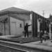 Photograph of Waitakere station building; Les Downey; 1973; 14-1360