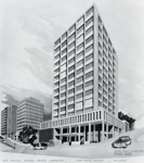 Artists Impression of NAC Head Office; Unknown Photographer; Unknown; 14-6353