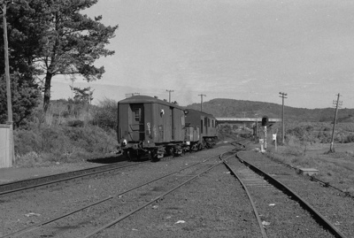 Photograph of Waitakere station; Les Downey; 1973; 14-1358