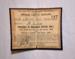 Ticket [Parliamentary Special Ticket]; New Zealand Railways; 1908; 2011.498