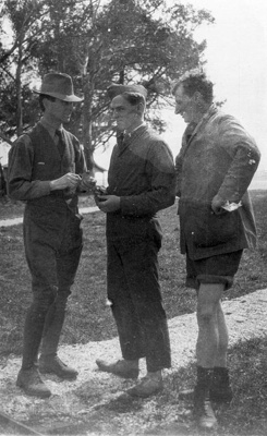 New Zealand Flying School  trainees at Kohimarama; Unidentified; 10-0911