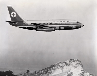 NAC Boeing 737; Mannering and Associates Limited; 1967; 14-5467