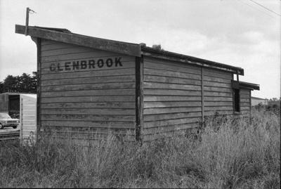 Photograph of Glenbrook station; Les Downey; 1973; 14-1963
