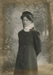 Portrait photograph of a woman; Unidentified; 13-1057