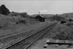 Photograph of Ahuroa rail station; Les Downey; 1975; 14-3888