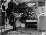Motion picture projection room; J G McGuire; 1930s; 13-2269