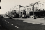 Top of Symonds Street. [showing trams 226 and 191]; Unknown Photographer; 01 Dec 1954; PHO-2017-5.19