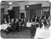Men seated at event; Unidentified; 1930s; 13-2179
