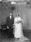 Wedding portrait; Unidentified; 1930s; 13-2070