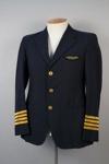 Uniform Jacket [Air New Zealand]; Air New Zealand Limited (New Zealand, estab. 1965); Hugh Wright Limited (New Zealand, estab. 1904); 1980.73.1