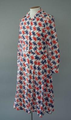 Uniform Dress [National Airways Corporation]; National Airways Corporation (New Zealand, estab. 1947, closed 1978); 1976-1978; 2016.35.26