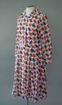 Uniform Dress [National Airways Corporation]; National Airways Corporation (New Zealand, estab. 1947, closed 1978), Holeproof New Zealand Limited; 1976-1978; 2016.35.26