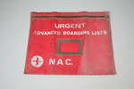 Document Folder [Boarding Lists Folder]; National Airways Corporation (New Zealand, estab. 1947, closed 1978); 2007.68