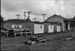 Photograph of goods shed, Kirikopuni railway station; Les Downey; 1973; 14-2656
