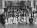 Group portrait at dance hall; Unidentified; 1930s; 13-2103