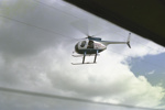 Photograph of helicopter; Les Downey; 1985?; 14-4607