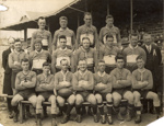 [Unidentified rugby team]; Unknown Photographer; 1931; 14-0883