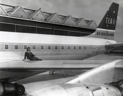 Air New Zealand promotional photograph; Unknown Photographer; 1966; 14-6415