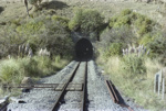 Photograph of Hoteo tunnel; Les Downey; 1972-1976; 14-4198