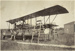 "Black and white photograph of a ""Boeing 1"" flying boat  undergoing repair outside; 1915-1927; 04/077/028"