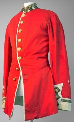 Uniform Jacket [Army]; Circa 1800; 1984.57.2