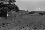 Photograph of Ahuroa rail station; Les Downey; 1975; 14-3887