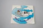 Sticker [Ansett New Zealand]; Ansett New Zealand (estab. 1987, closed 2001); 2016.36.87
