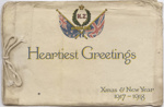 C.K. Mills Collection: Greeting Card; Unidentified; 1915-1916; 14/004/016