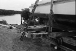 Photograph of boat-launching ramp, Thames; Les Downey; 1973; 14-1987