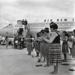 Air New Zealand DC8 at the opening of Mangere; Whites Aviation Limited; 24 Nov 1965; 14-6042