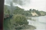 Photograph from excursion train, Opua line; Les Downey; 1985?; 14-4608