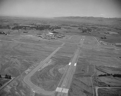 Christchurch Airport; Mannering and Associates Limited; 1960s; 08/117/950