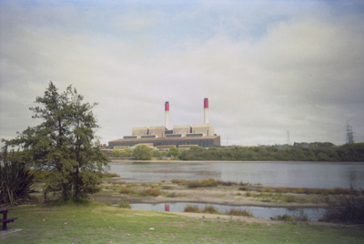 Photograph of Huntly power station; Les Downey; 1985?; 14-4814