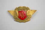 Badge [NAC]; National Airways Corporation (New Zealand, estab. 1947, closed 1978); 2002.87