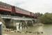 Photograph of locomotive J 1211 on bridge with excursion train; Les Downey; 1985?; 14-4658