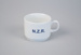 Teacup [North Island Main Trunk Centenary]; Crown Lynn Potteries (New Zealand, estab. 1948, closed 1989); New Zealand Broadcasting Corporation (New Zealand, estab. 1982); 2008; 2016.103.1
