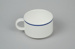 Teacup [Air New Zealand]; Royal Doulton (England, estab. 1815); Ansett New Zealand (estab. 1987, closed 2001); 2016.59.2
