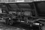 Photograph of ballast wagon YB 614; Les Downey; 1972; 14-3411