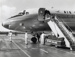 Air New Zealand DC8 at the opening of Mangere; Whites Aviation Limited; 24 Nov 1965; 14-6054