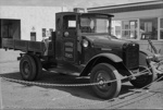 Photograph of early truck; Les Downey; 1973; 14-1737