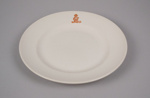 Dinner Plate [New Zealand Railways]; Crown Lynn Potteries (New Zealand, estab. 1948, closed 1989); New Zealand Railways; 2016.79.14