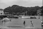 Photograph of Whitianga wharf; Les Downey; 1973; 14-1981