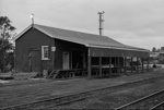 Photograph of goods shed, Wellsford; Les Downey; 1972-1976; 14-3904