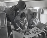 Air New Zealand promotional photograph; Unknown Photographer; 1966; 14-6119