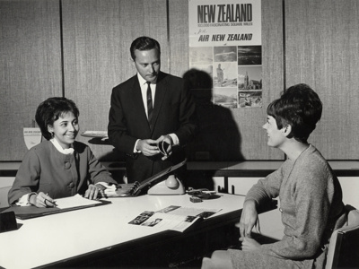 Air New Zealand Australian Headquarters; Unknown Photographer; 10 Apr 1967; 15-0107