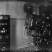 Cinema projector in projection room; J G McGuire; 1930s; 13-2142