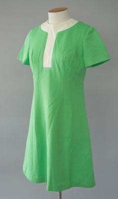 Uniform Dress [National Airways Corporation]; National Airways Corporation (New Zealand, estab. 1947, closed 1978); 1970-1976; 2016.35.23