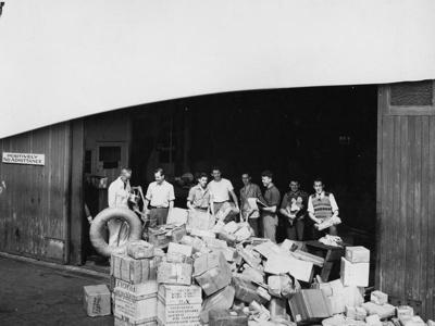 TEAL Mechanics Bay Base; Whites Aviation Limited; Sep 1949; 14-6687