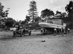 Men launch boat; Unidentified; 1930s; 13-2100