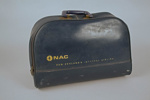 Airline Bag [NAC]; National Airways Corporation (New Zealand, estab. 1947, closed 1978); Circa 1968; 2011.350